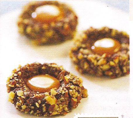 Chocolate Turtle Cookies | Sweet Treats ~ Cookies | Pinterest