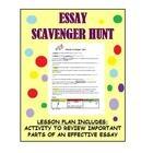 essay on scavenger hunts