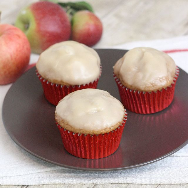 ... am determined. Apple Fritter Muffins by Tracey's Culinary Adventures