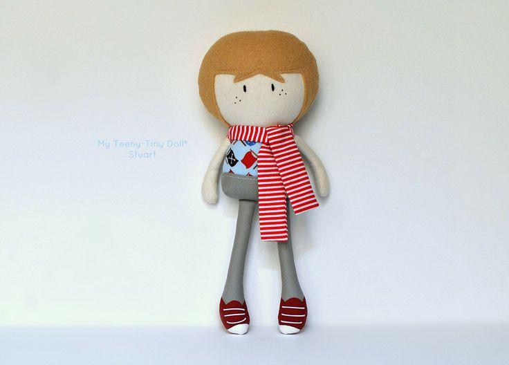 """Мой Тини-Крошечный Кукла ® Стюарт / 11 """"ручной Fashion Doll Куком вас Некоторые Лапша"""