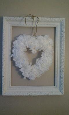 heart wreaths valentine's day
