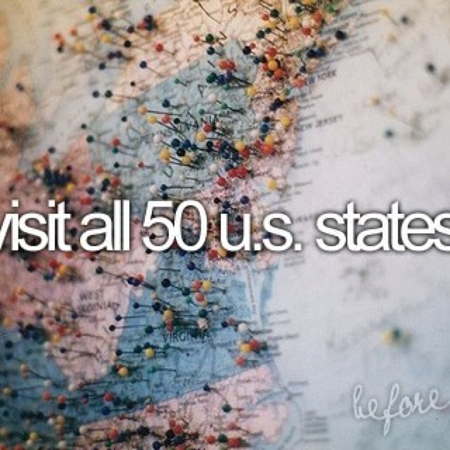 Visit All 50 States France Other Places Traveling