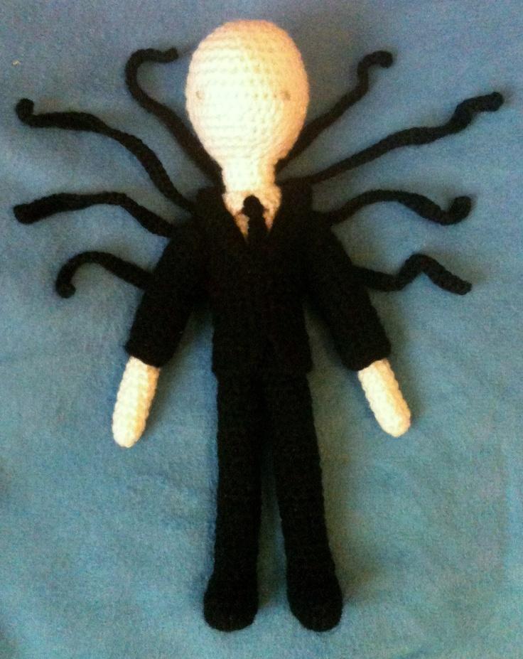 Amigurumi Slender Man : Slender Man with tentacles! - amigurumi What Defines ME ...
