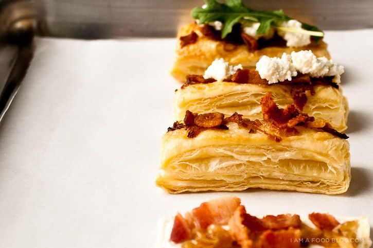 Tarte Flambee | The Element of Drool | Pinterest