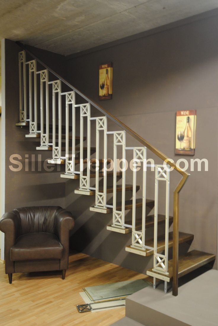Floating stairs railing design idea stair design ideas by siller - Home stair railing design ...