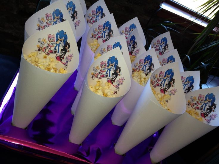 WIDNEY WOMAN: MotorMouth's Sonic the Hedgehog Birthday Party