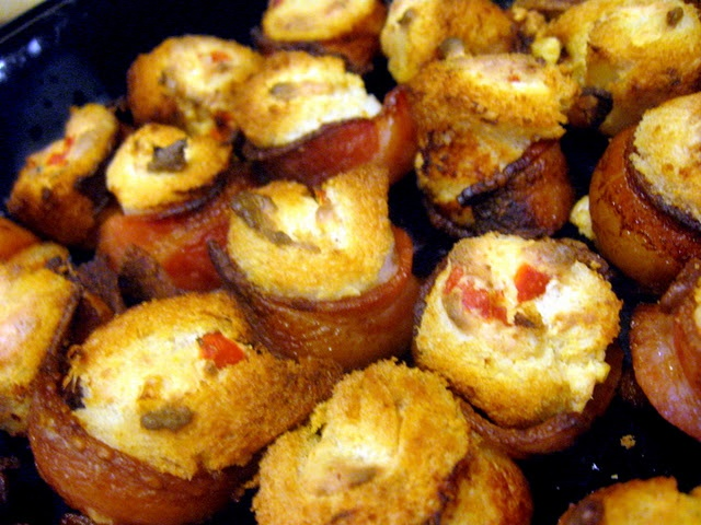 bacon roll ups | Food and Drinks | Pinterest