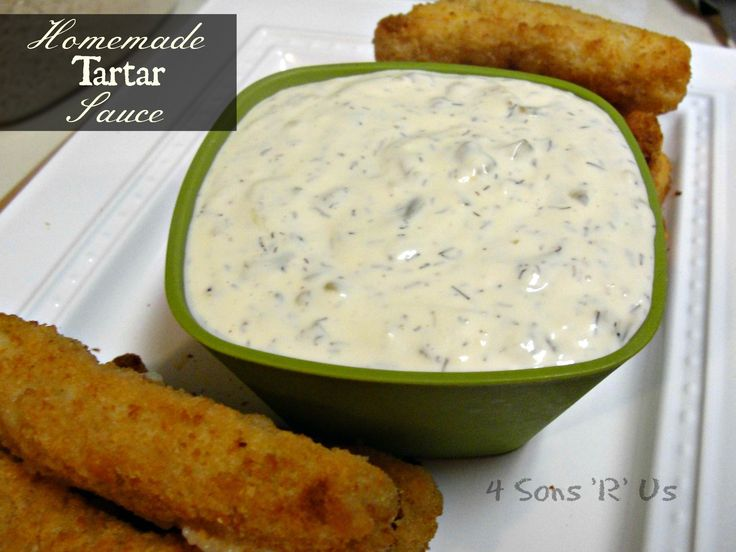 Homemade Tartar Sauce Full recipe