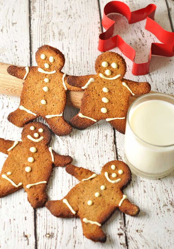 gluten free gingerbread men | Gluten Free | Pinterest