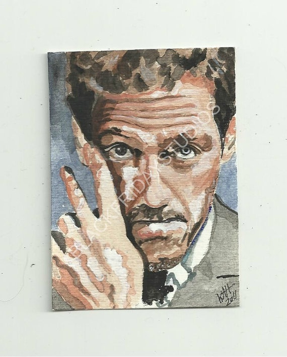 Hugh Laurie Aceo Print...