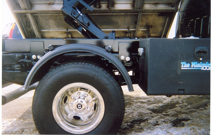 Poly Fenders Dually Trucks : Minimizer poly truck fenders black quot wheels series