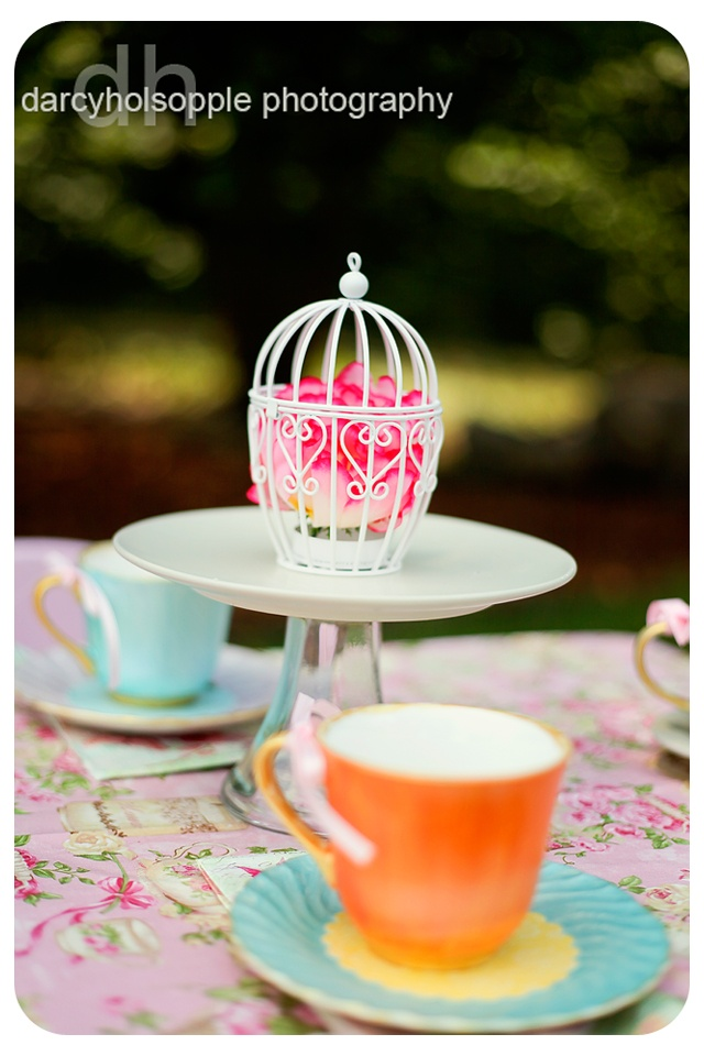 Design Dazzle: English Garden Tea Party