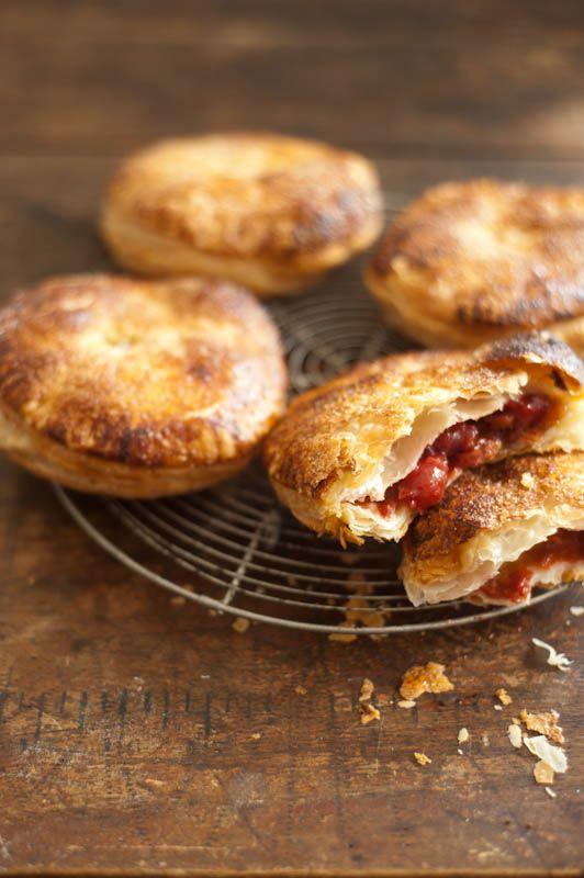 Sour Cherry Hand Pies Makes 4 1 package store-bought puff pastry ...
