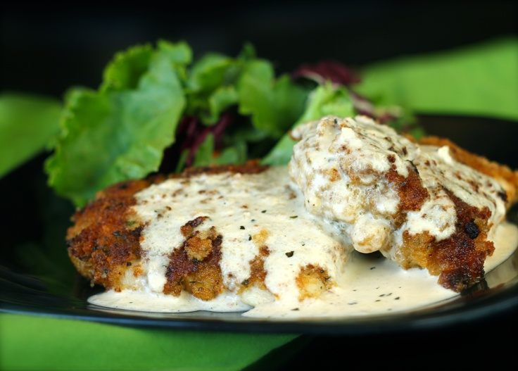 Chicken in Basil Cream Sauce; not real healthy, but looks tasty ...