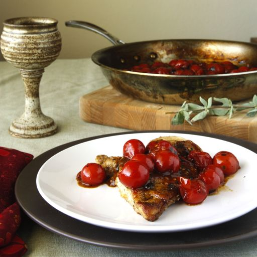chicken with tomato herb sauce...mmmmmlooks good, and fast.