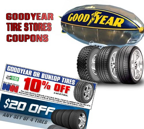Goodyear tire store coupons