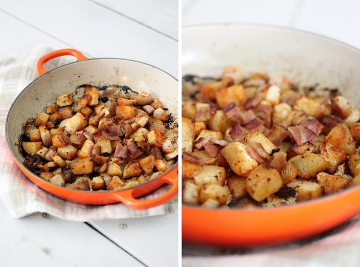 Smoky roasted turnips Paleo turnips, bacon grease, smoked paprika ...