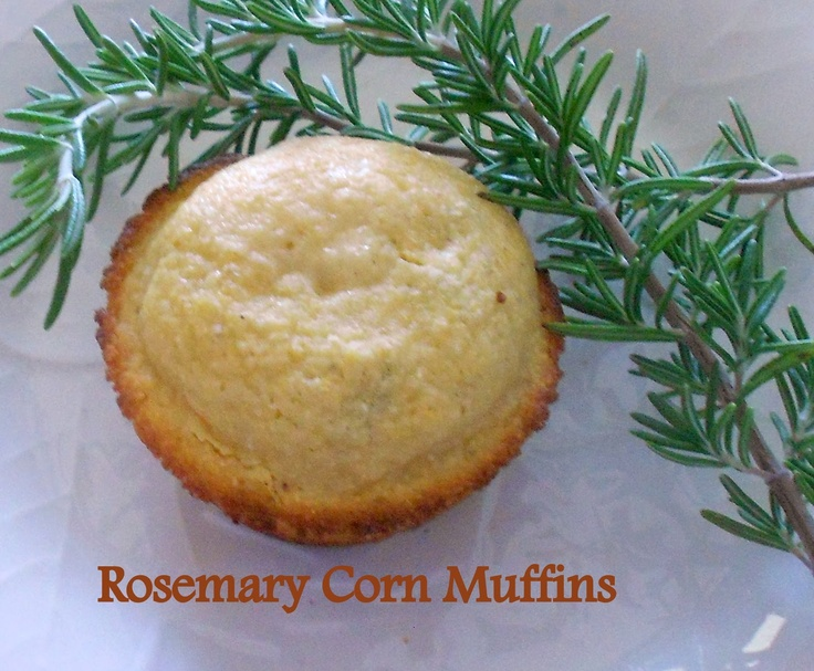 Rosemary Corn Muffins | There's a Party in my Tummy!! | Pinterest