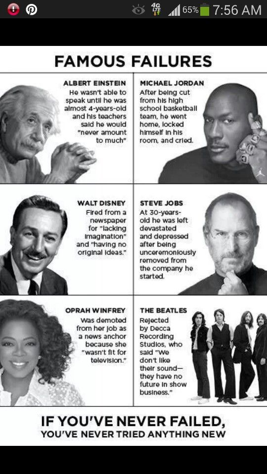 failure is necessary for success essay