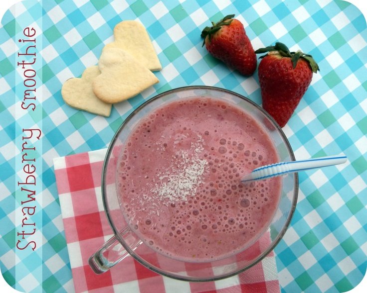 Healthy Soy Milk Strawberry Smoothie | Nutrition/ Healthy Food | Pint ...
