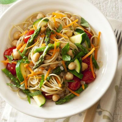 Bright Vegetable Pasta Recipes — Dishmaps