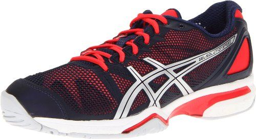 ASICS Women's Gel-Solution Speed Tennis Shoe,Eclipse/Lightning/Diva
