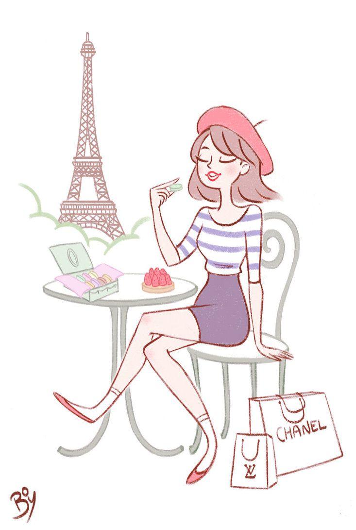 C'est Paris! by Cheeky-Bee on deviantART