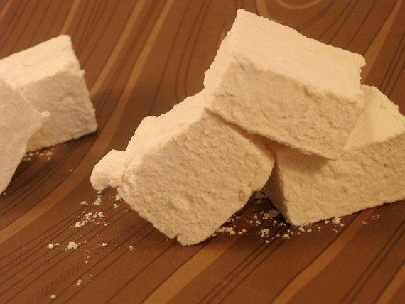 Honey Vanilla Marshmallows 1 dozen by SweetJumbles on Etsy, $7.25