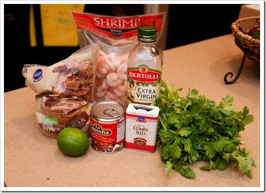 chipotle lime shrimp | Noms noms | Pinterest
