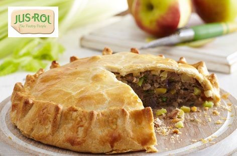 Sausage and apple pie,,, 30 mins to prepare and 35 mins to cook ...