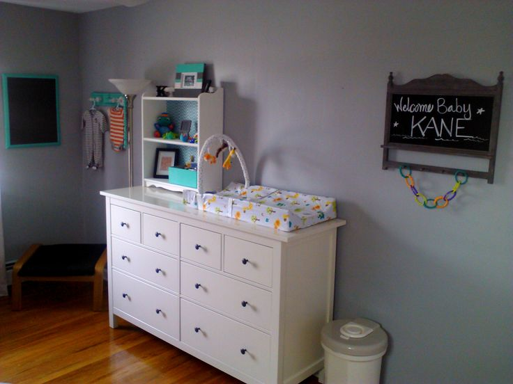 Ikea Faktum Schublade Justieren ~ ACTUAL IKEA dresser as changing table  Anderson Thomas  Pinterest