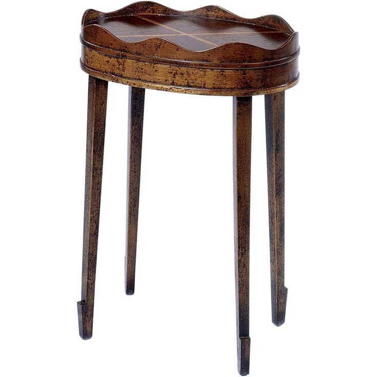 Hekman oval accent table cool pinterest for Cool accent tables