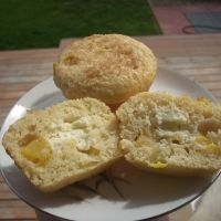 Peaches N'cream Muffins Recipe | Sweets & Treats | Pinterest
