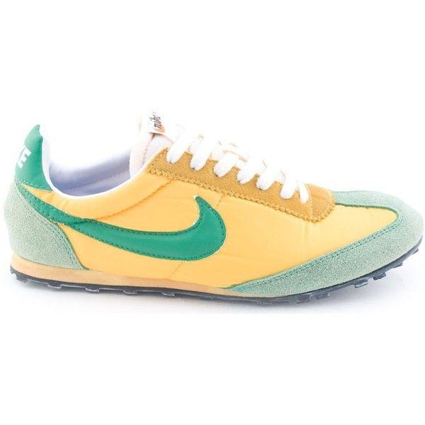Nike vintage oregon waffle premium green yellow