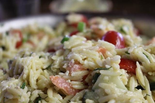 ... Kitchen: Greek Orzo and Shrimp Salad with Mustard-Dill Vinaigrette