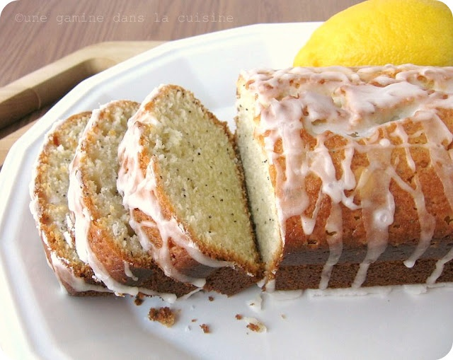 Almond Poppy Seed Loaf | Food | Pinterest