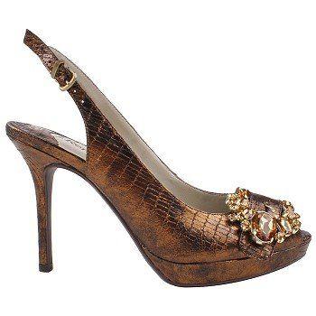 Renee Regina Shoes (Bronze) - Women's Shoes - 10.5 M
