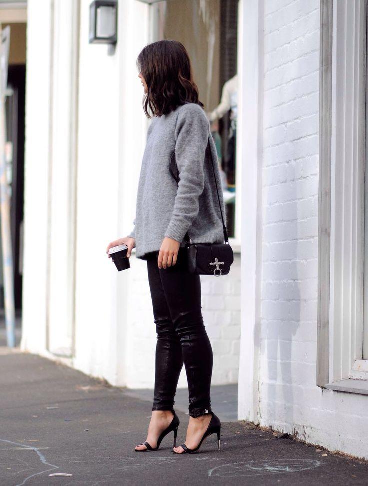 grey knit. Sydney. #HarperAndHarley
