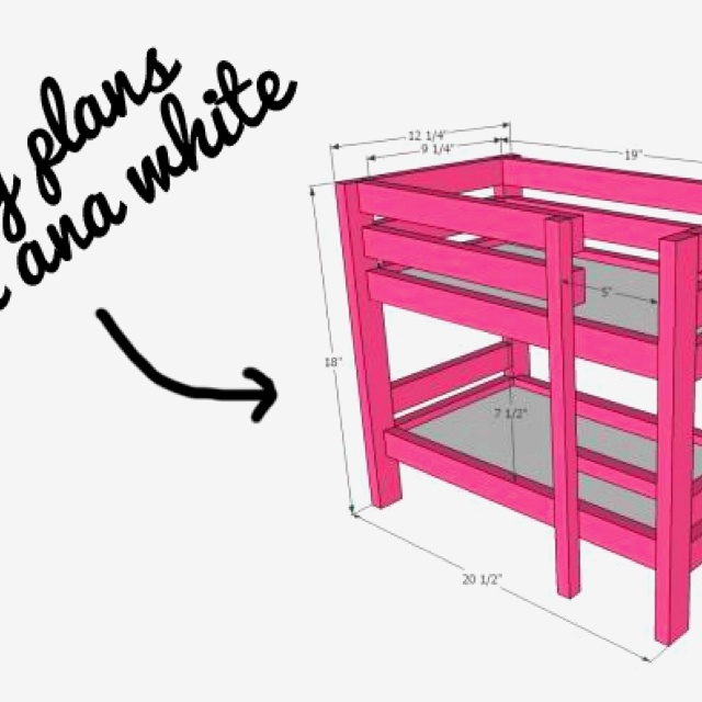ana white plans Bunk beds Kid s