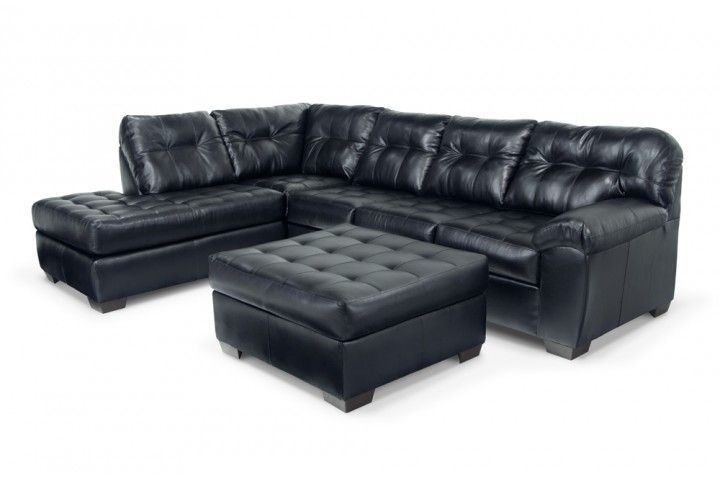 Mercury 3 piece right arm facing sectional for Bob s leather sectional sofa