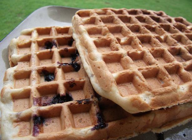 Banana-Nut Waffles (Gluten-Free and Vegan)   Recipe