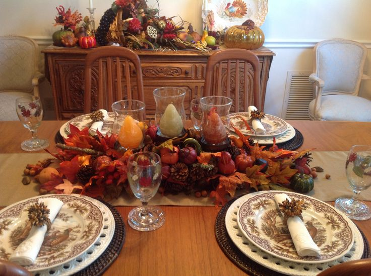 Fall Tablescape Thanksgiving And Autumn Tablescapes