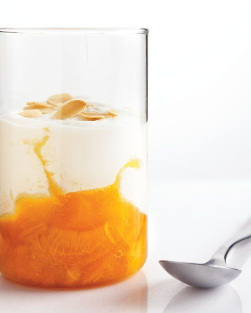 Apricot-Compote Yogurt Parfaits -- Build your own fruit-on-the-bottom ...