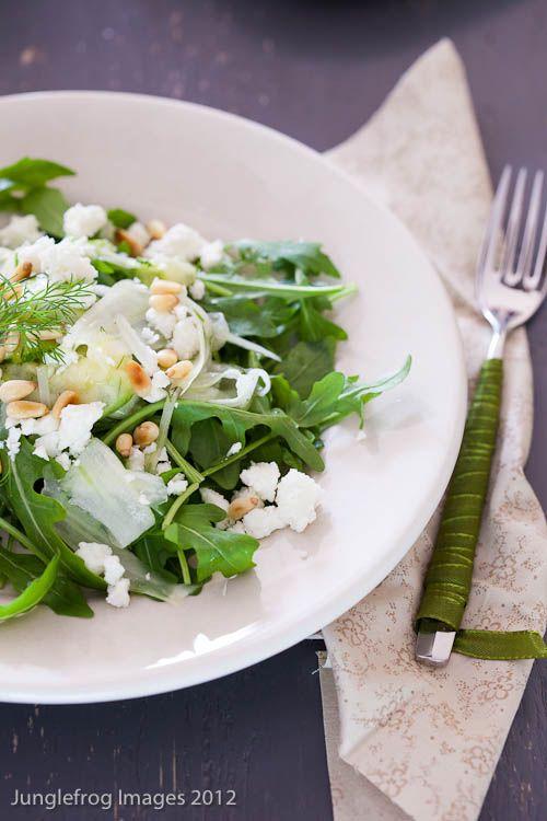 Junglefrog Cooking Shaved fennel salad - Bookreview Supernatural Every ...