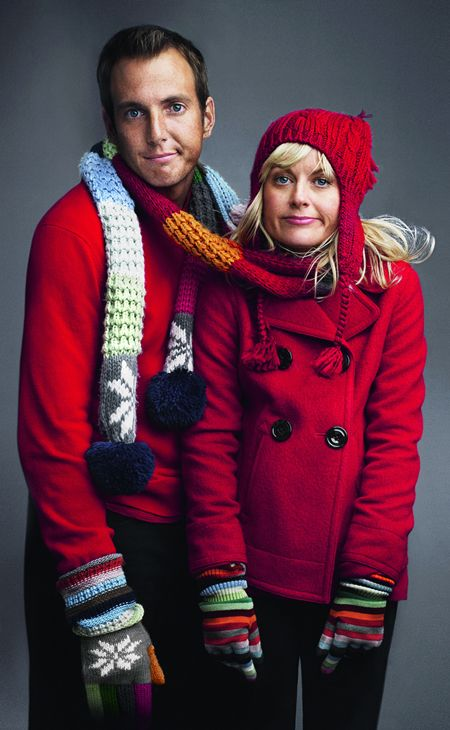 The cute and quirky that is Will Arnett and Amy Poehler.