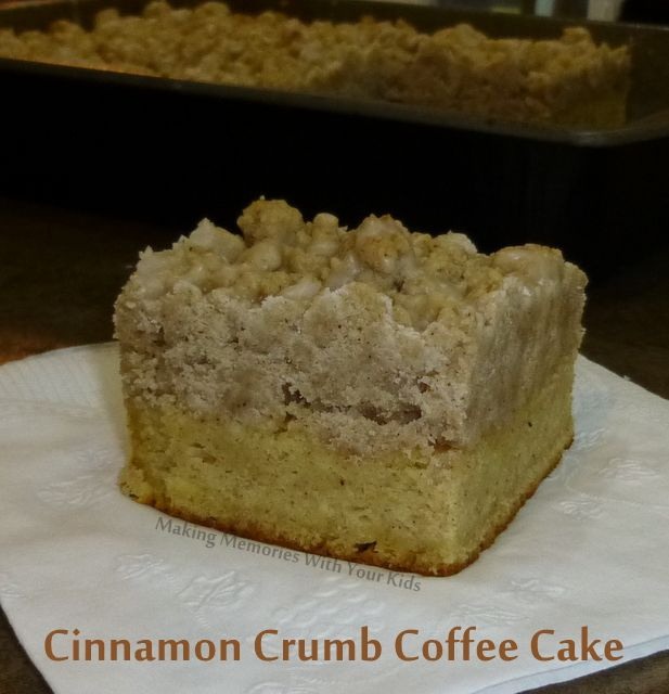 Cinnamon Coffee Cake Recipe — Dishmaps