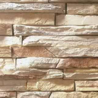 tumbled stone backsplash