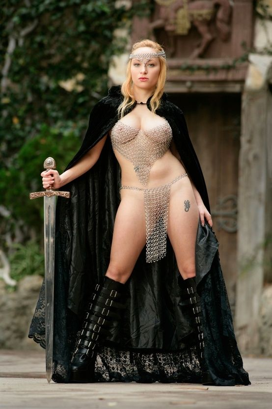 from Kayden pornstar woman with chainmail