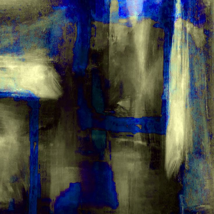 alongtimealone:    Blue #5 (Homage to Klein) (by David Lewis-Baker)