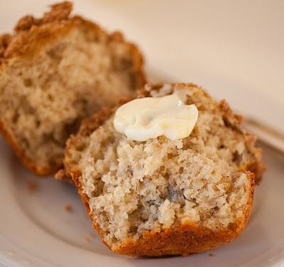 roasted banana muffins | tish boyle sweet dreams